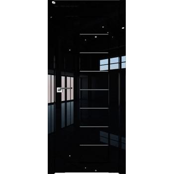 Дверь Профиль дорс 17L Черный люкс - со стеклом