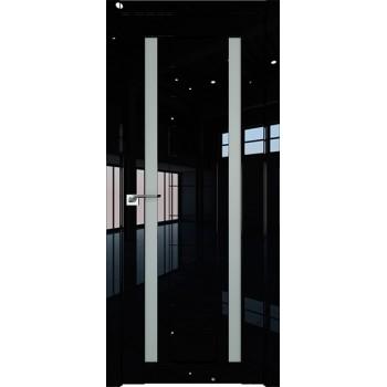 Дверь Профиль дорс 15L Черный люкс - со стеклом