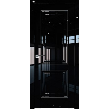 Дверь Профиль дорс 27L Черный люкс - глухая