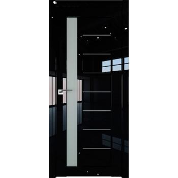 Дверь Профиль дорс 37L Черный люкс - со стеклом