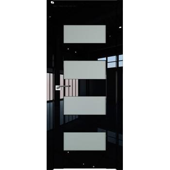 Дверь Профиль дорс 46L Черный люкс - со стеклом