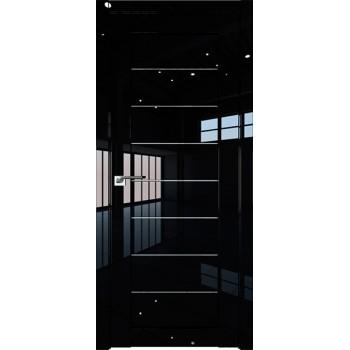 Дверь Профиль дорс 71L Черный люкс - со стеклом
