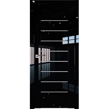 Дверь Профиль дорс 73L Черный люкс - со стеклом