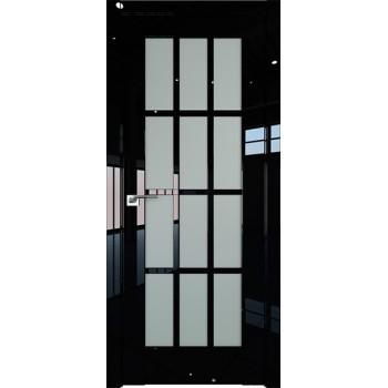 Дверь Профиль дорс 102L Черный люкс - со стеклом