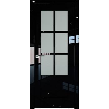 Дверь Профиль дорс 103L Черный люкс - со стеклом