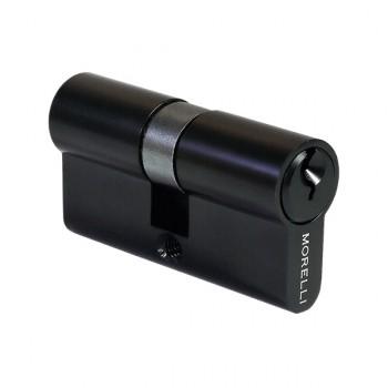 Цилиндр ключевой Morelli 60C BL Черный матовый