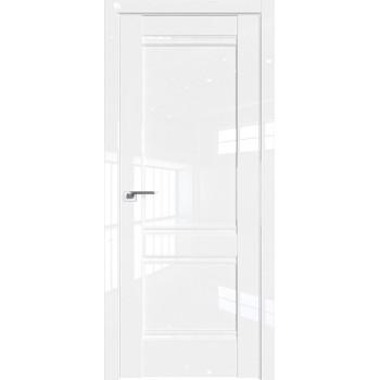 Дверь Профиль дорс 1L Белый люкс - глухая