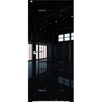 Дверь Профиль дорс 1L Черный люкс - глухая
