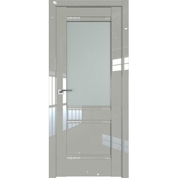 Дверь Профиль дорс 2L Галька люкс - со стеклом