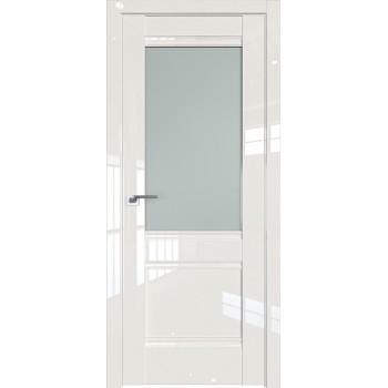 Дверь Профиль дорс 2L Магнолия люкс - со стеклом