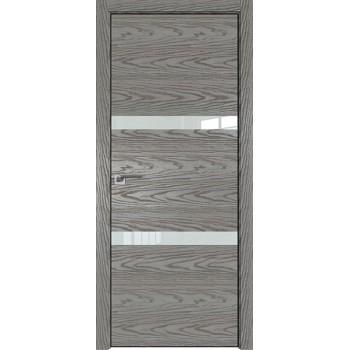 Дверь Профиль дорс 30NK Дуб скай деним - со стеклом