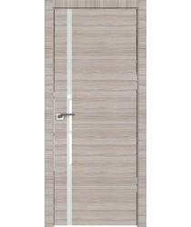 Дверь Профиль дорс 22Z Капуччино кроскут - со стеклом