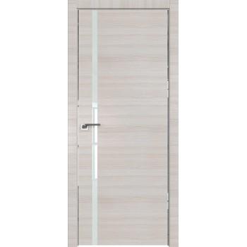 Дверь Профиль дорс 22Z Эш вайт кроскут - со стеклом