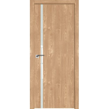 Дверь Профиль дорс 22ZN Каштан натуральный - со стеклом