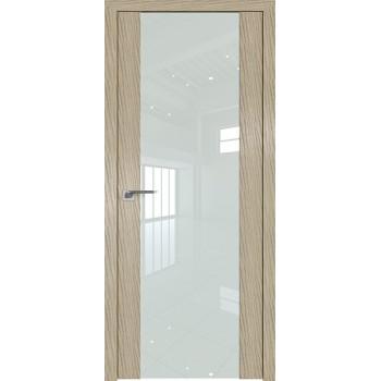 Дверь Профиль дорс 110N Дуб скай крем - со стеклом