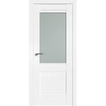 Дверь Профиль дорс 2X Пекан белый - со стеклом