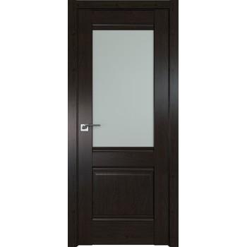 Дверь Профиль дорс 2X Пекан темный - со стеклом