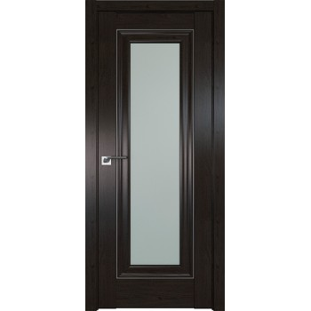 Дверь Профиль дорс 24X Пекан темный - со стеклом