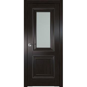 Дверь Профиль дорс 28X Пекан темный - со стеклом