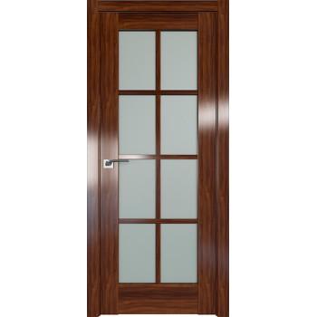 Дверь Профиль дорс 101X Орех амари - со стеклом