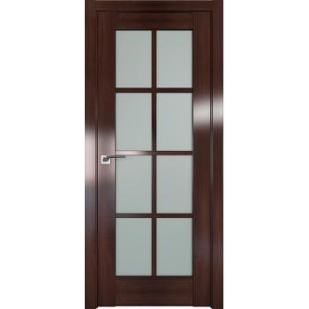 Дверь Профиль дорс 101X Орех сиена - со стеклом