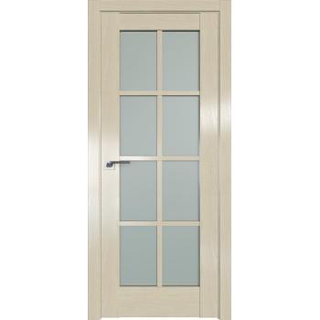 Дверь Профиль дорс 101X Эш вайт - со стеклом