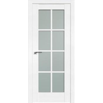 Дверь Профиль дорс 101X Пекан белый - со стеклом