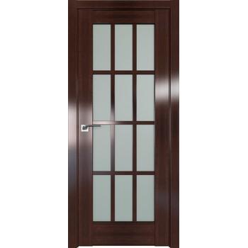 Дверь Профиль дорс 102X Орех сиена - со стеклом