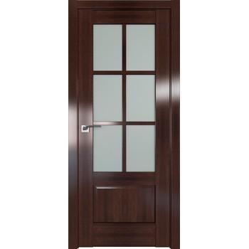 Дверь Профиль дорс 103X Орех сиена - со стеклом