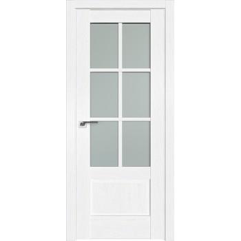 Дверь Профиль дорс 103X Пекан белый - со стеклом