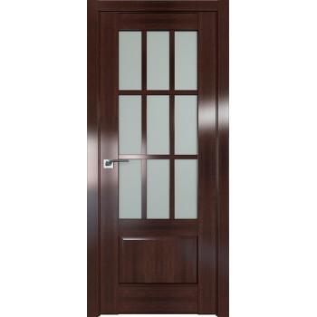 Дверь Профиль дорс 104X Орех сиена - со стеклом