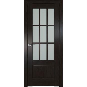 Дверь Профиль дорс 104X Пекан темный - со стеклом