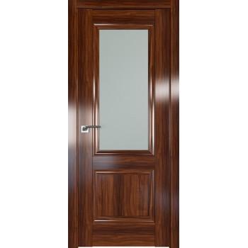 Дверь Профиль дорс 2.37X Орех амари - со стеклом