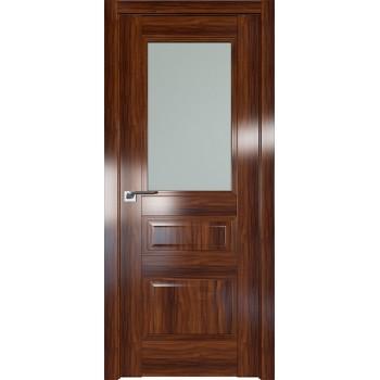 Дверь Профиль дорс 67X Орех амари - со стеклом