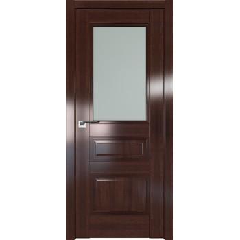 Дверь Профиль дорс 67X Орех сиена - со стеклом