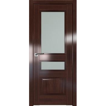 Дверь Профиль дорс 68X Орех сиена - со стеклом