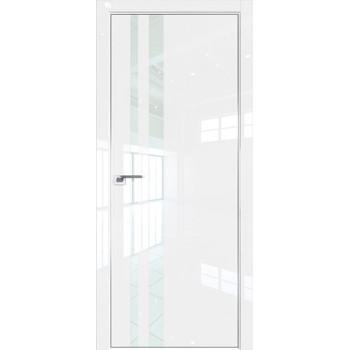 Дверь Профиль дорс 16LK Белый люкс - со стеклом