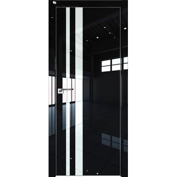 Дверь Профиль дорс 16LK Черный люкс - со стеклом