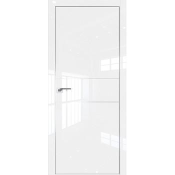 Дверь Профиль дорс 41LK Белый люкс - глухая