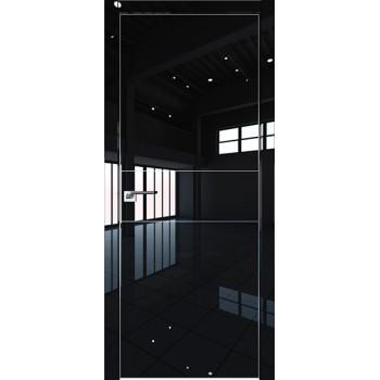 Дверь Профиль дорс 41LK Черный люкс - глухая