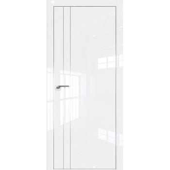 Дверь Профиль дорс 42LK Белый люкс - глухая