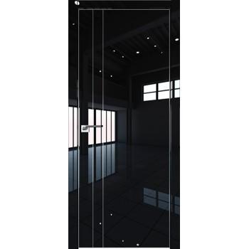 Дверь Профиль дорс 42LK Черный люкс - глухая