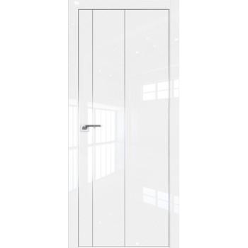 Дверь Профиль дорс 43LK Белый люкс - глухая