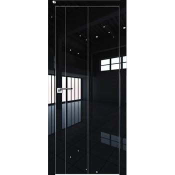 Дверь Профиль дорс 43LK Черный люкс - глухая