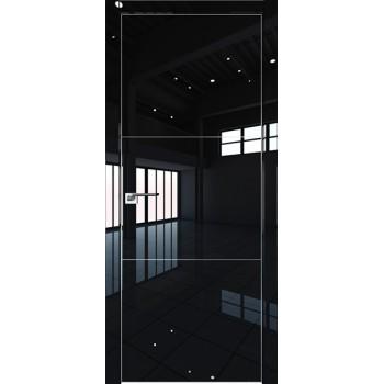 Дверь Профиль дорс 44LK Черный люкс - глухая