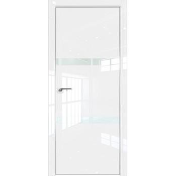 Дверь Профиль дорс 30LK Белый люкс - со стеклом