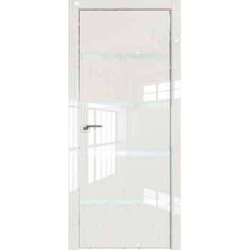 Дверь Профиль дорс 20LK Магнолия люкс - со стеклом