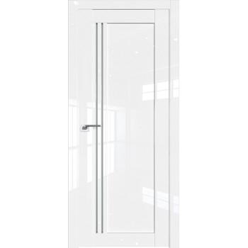 Дверь Профиль дорс 2.50L Белый люкс - со стеклом