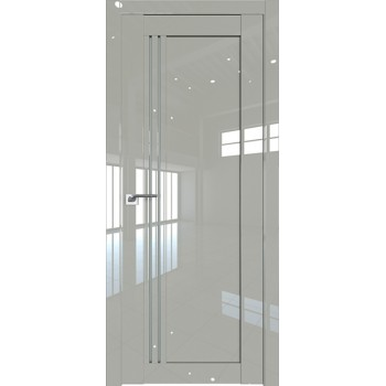 Дверь Профиль дорс 2.50L Галька люкс - со стеклом