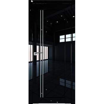 Дверь Профиль дорс 2.50L Черный люкс - со стеклом